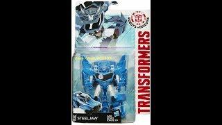 "ОБЗОР:на фигурку Стилджо из серии ""Transformers:ROBOTSinDISGUISE""."