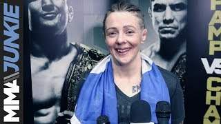 UFC Brooklyn: Joanne Calderwood full post-fight interview