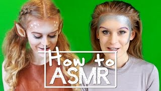 How to make an ASMR roleplay video