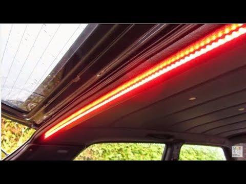 How To Make Car Led Bar Brake Light Indicator Youtube
