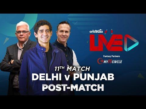Cricbuzz Live:Match 11,Delhi v Punjab, Post-match show