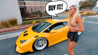 Test Driving 1200HP WideBody Lamborghini!! *THIS IS THE ONE*