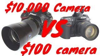 Video $10,000 Camera VS $100 Camera download MP3, 3GP, MP4, WEBM, AVI, FLV Juli 2018