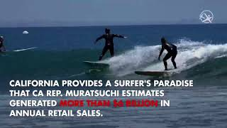 Surfing Officially California's State Sport