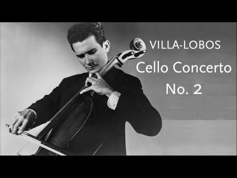 Cello Concerto No. 2 • Villa-Lobos • Vienna State Opera Orchestra