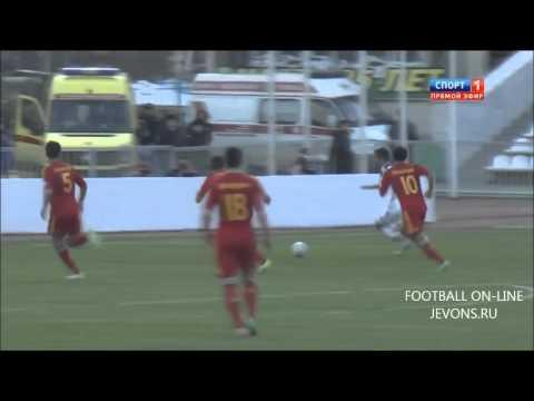 Россия 2 0 Армения 05 03 2014