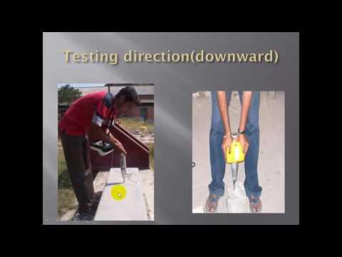 non distructive testing for  concrete