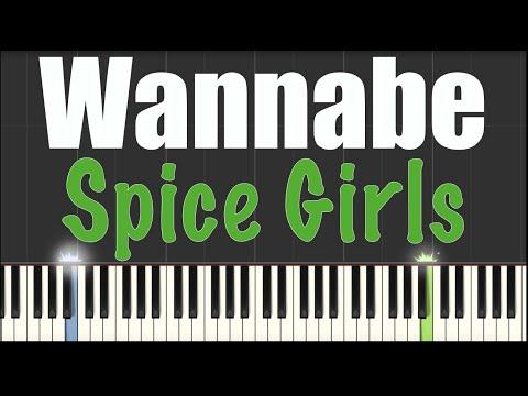 Wannabe Spice Girls Piano Tutorial Youtube