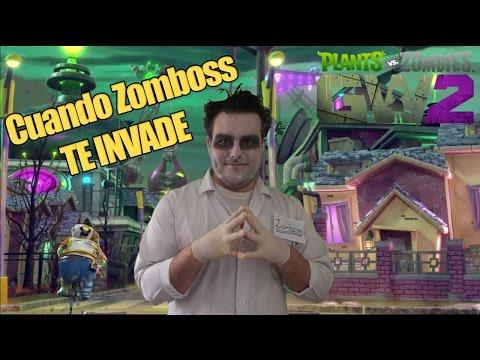 CUANDO ZOMBOSS TE INVADE - Plants vs Zombies Garden Warfare 2