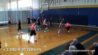 Drew Peterson Academic Basketball Player Profile aau season