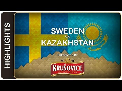 Gustav Nyquist paces big win over Kazakhstan | Sweden-Kazakhstan HL | #IIHFWorlds 2016