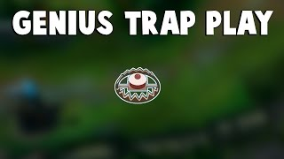 This is Truly Genius TRAP PLAY by Caitlyn... | Funny LoL Series #101