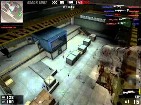 [BlackShot] Hack and Glitch 10/5/2011 (PANIC SPACE AND SANDSTORM)
