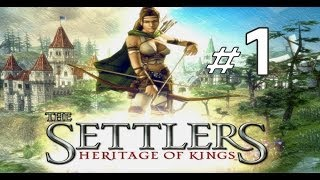The Settlers 5 - Heritage of Kings - Mission 1 ( Part 1 ) HD