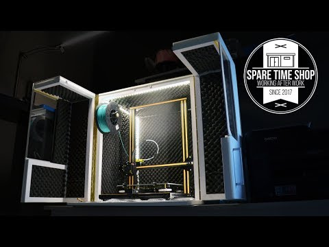 3D Printer Enclosure / Build (Creality CR-10)