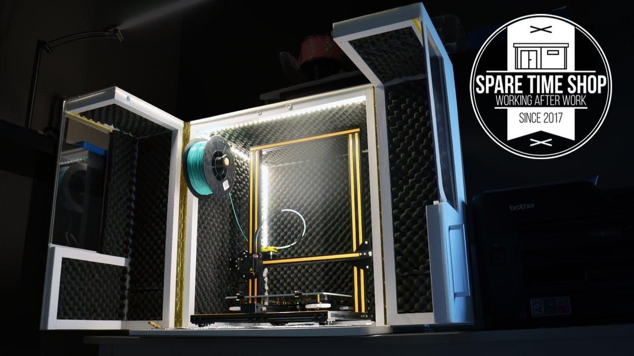 3D Printer Enclosure  Build Creality CR10  YouTube