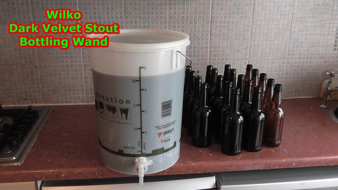 wilko dark velvet stout bottling wand day part 18 home. Black Bedroom Furniture Sets. Home Design Ideas