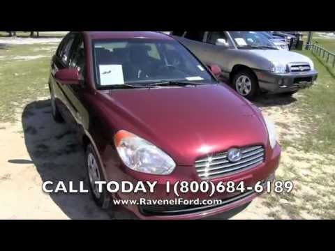 2007 HYUNDAI ACCENT GLS Review Car Videos * 1.6L I4 Automatic For Sale @  Ravenel Ford SC   YouTube