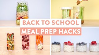 8 TIME-SAVING Meal Prep HACKS | Back to School Edition!