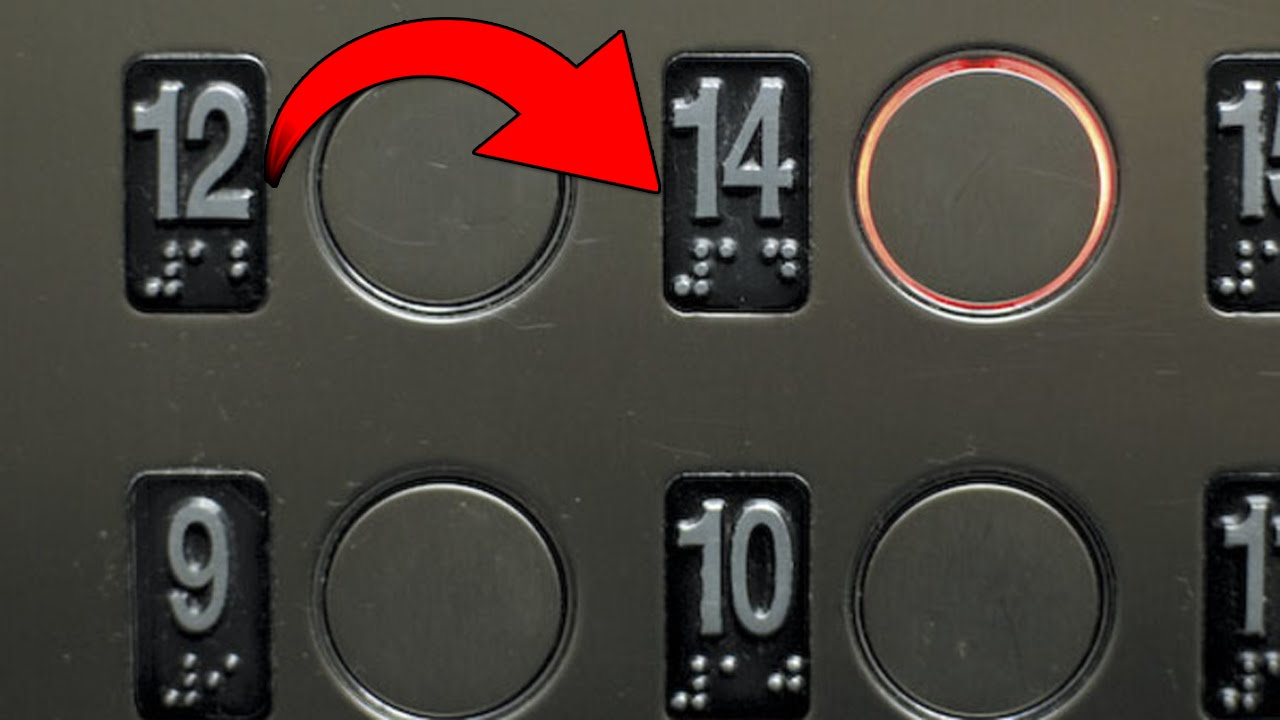 Resultado de imagen para numero 13 elevador