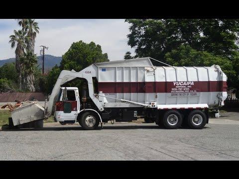 Burrtec Waste Industries - Volvo WXLL - FF Gomez Front Loader ...