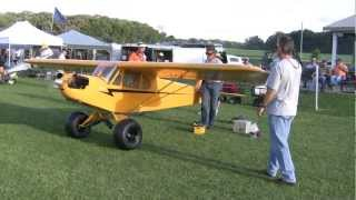2/3 Scale 19FT Wingspan electric start Piper Cub flys NAMFI 2012 SMMAC