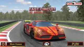Fast Circuit 3D Racing PACK 1, 3D Car Racing Games, İncredible Vehicles, Flash Game Video