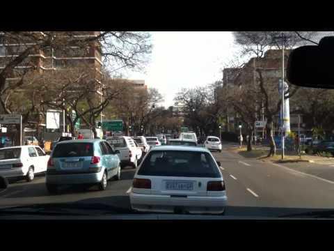 Driving in Pretoria