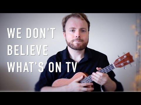 We Don't Believe What's On TV - Twenty One Pilots (Ukulele Tutorial)