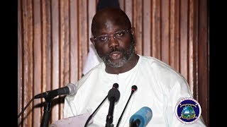 President Weah Announces US$25 Million Stimulus To Stabilize Economy