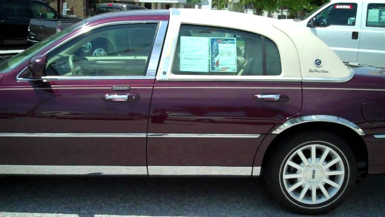 2007 Lincoln Town Car Signature Youtube