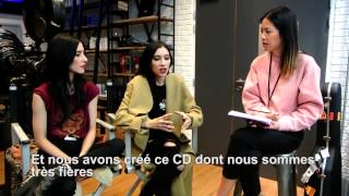 Candy Rosie meets The Veronicas in Paris (Interview + Acoustic Live)