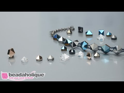 Show and Tell: Swarovski Spike Beads