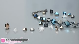 Show and Tell: Swarovski Spike Beads