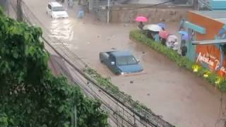 Floods Koh Tao, Thailand - Floods 5th Jan 2017 - Part 1