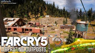 Far Cry 5 Gameplay - Liberating Outposts (Stealth)