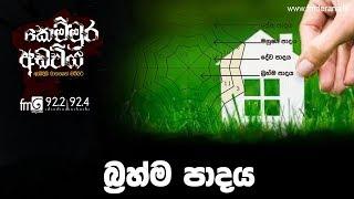 බ්රහ්ම පාදය | Kemmura Adaviya | FM Derana