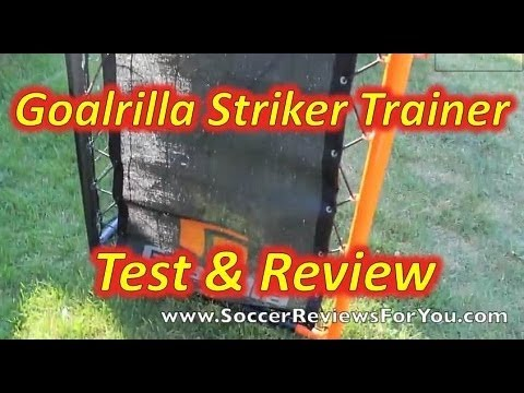 Goalrilla Dual Rebound Striker Trainer
