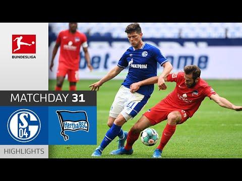 Schalke Hertha Berlin Goals And Highlights
