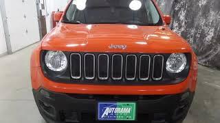 2017 Jeep Renegade Latitude Used Cars - Dickinson,ND - 2018-03-24