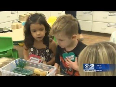 Preschool creates room based around STEM