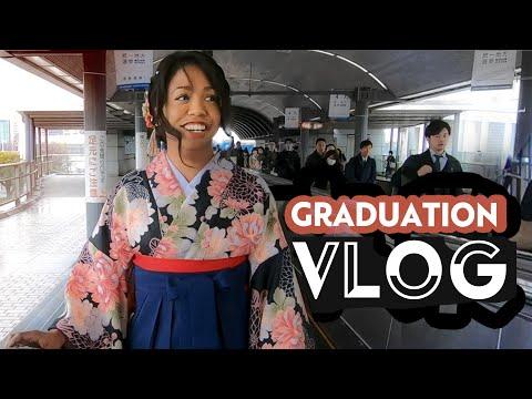 GRADUATING UNIVERSITY In JAPAN   Last School Vlog!