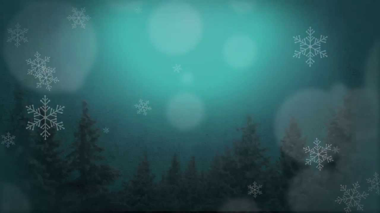 Falling Snow Animated Wallpaper Winter Christmas Scene Moving Background Christmas Loop