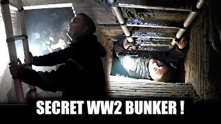 We found a secret underground bunker! full of stuff!