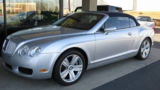 2007 Bentley Continental GTC Start Up, Exhaust, and In Depth Tour