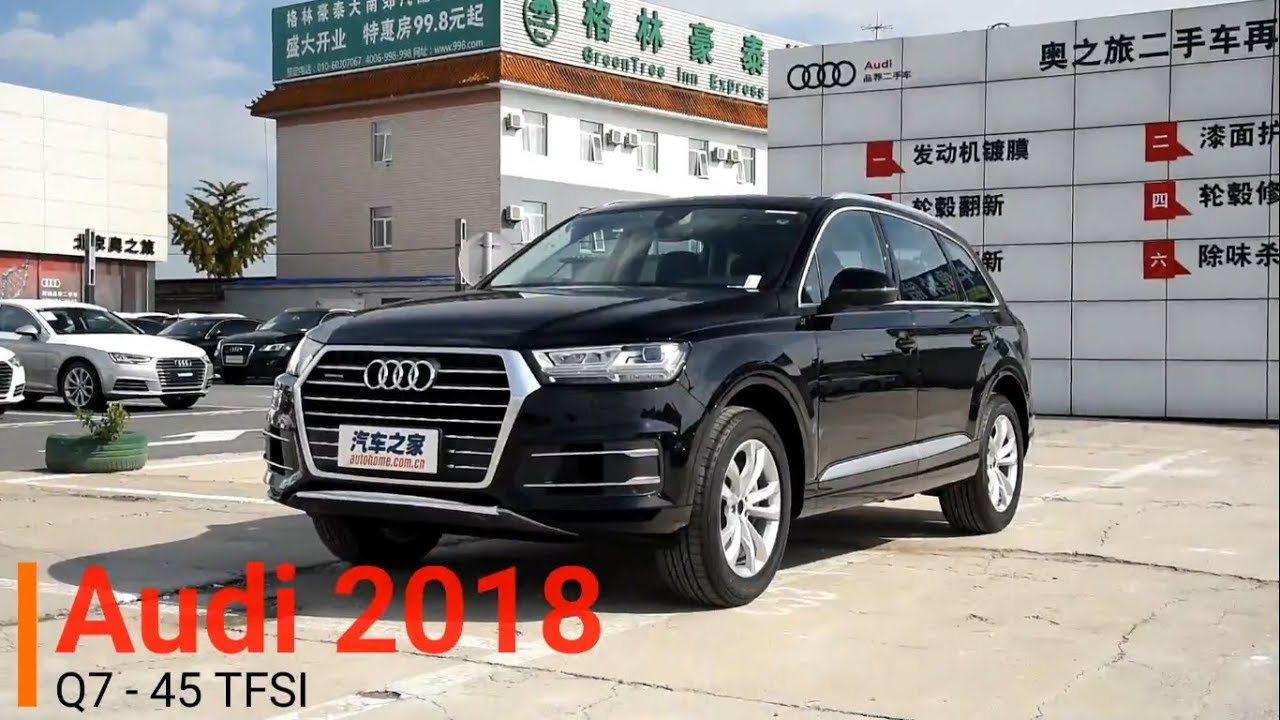 2018 Audi Q7 Interior And Exterior Overview Youtube