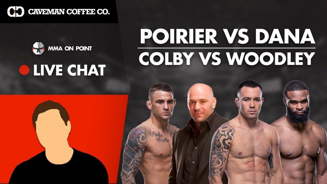Special Gaming Edition Live Chat: Dana Doubles Down on Poirier, Covington vs Woodley