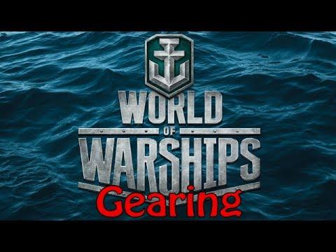 [World of Warships] Gearing -  Liquidator on Shatter