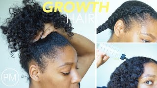 Nighttime Hair Routine for HAIR GROWTH | Stimulate Slow Inactive Hair Follicles