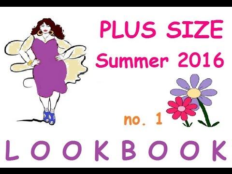 LUBook léto 2016 1.díl/ Plus size Look Book Summer 2016 Part 1